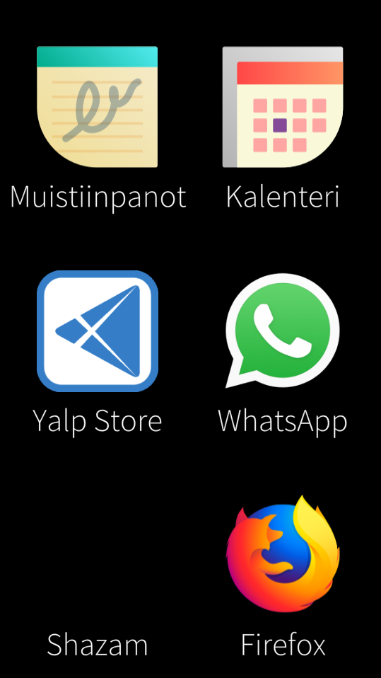 Shazam icon missing - together jolla com